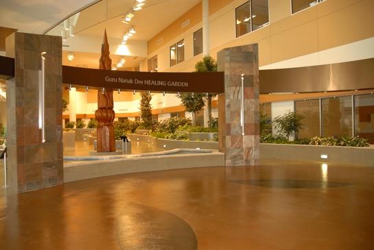 Guru Nanak Healing Garden Mazankowski Heart Institute  Edmonton